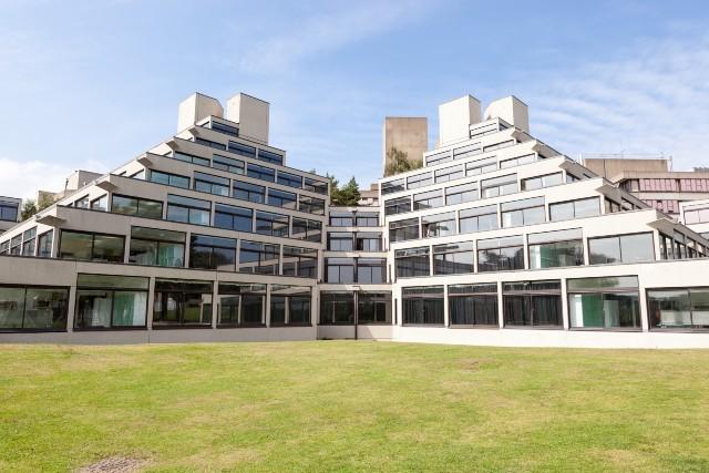 A building of UEA