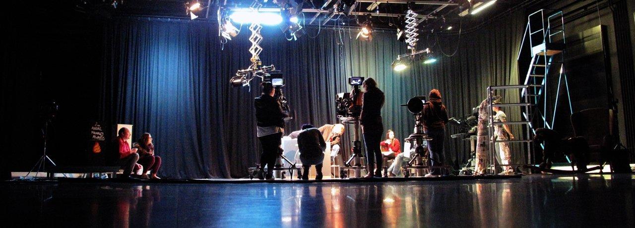 Lincoln School of Media TV Studio