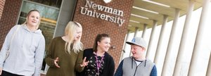 Students at Newman University