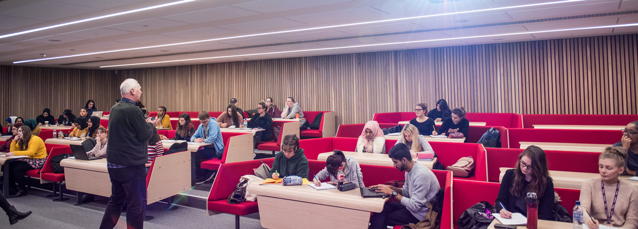 Modern lecture theatres