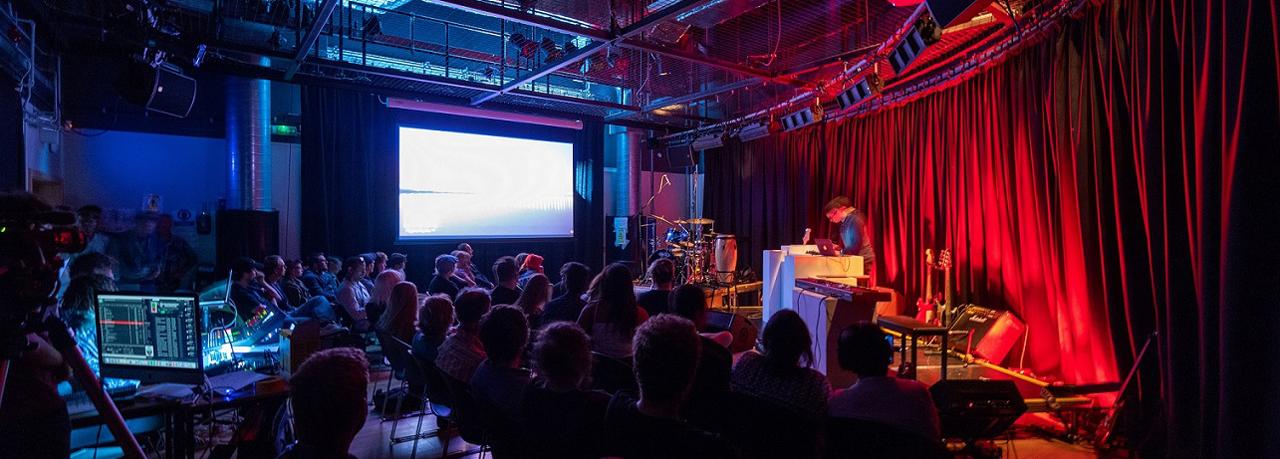 Performance space | University Centre Weston