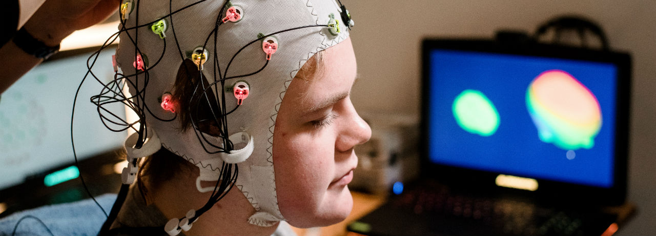 Psychology EEG machine