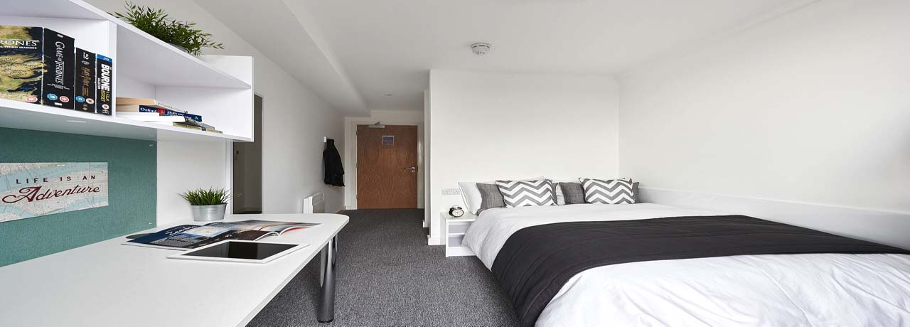 Student accommodation at De Montfort University