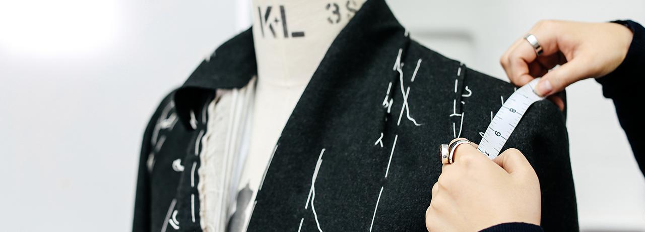 Bespoke tailoring workshop, London College of Fashion