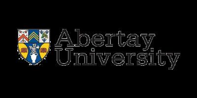 Logo for Abertay University