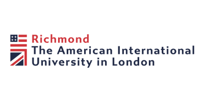 Logo for Richmond, The American International University in London