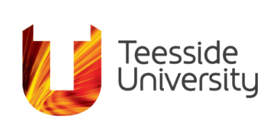 Logo for Teesside University, Middlesbrough