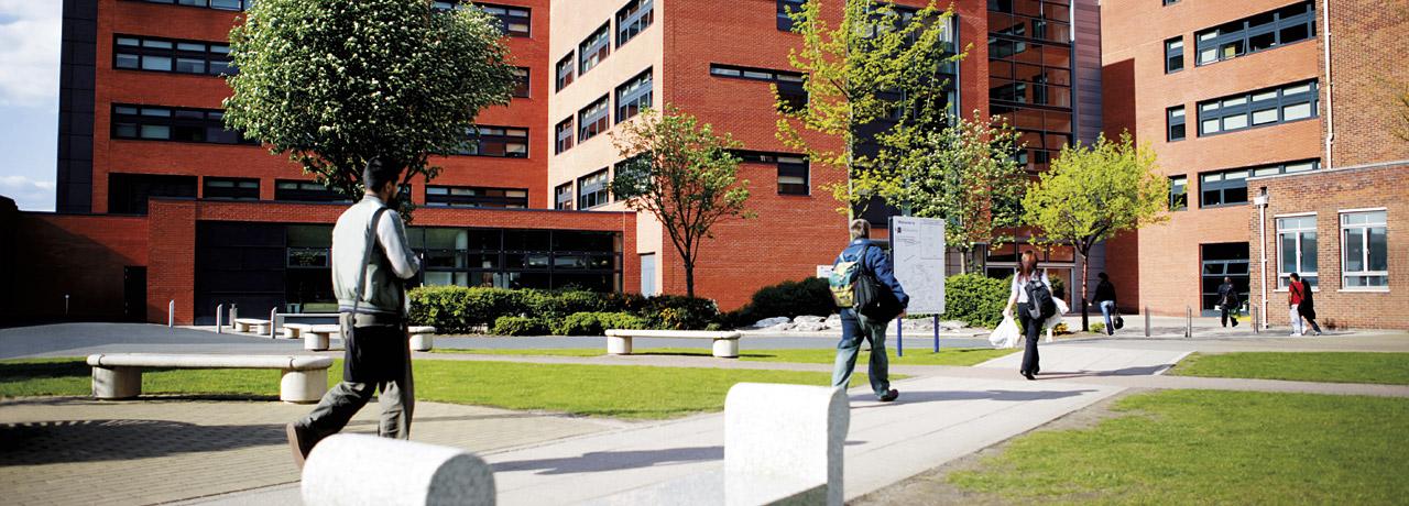 On campus