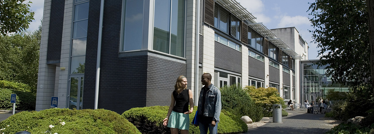 Students on the Frenchay Campus