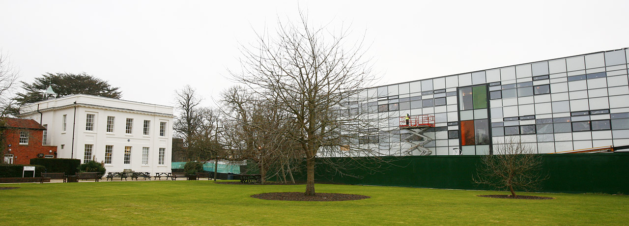 Walton Hall and Jennie Lee Buildings, Milton Keynes Campus