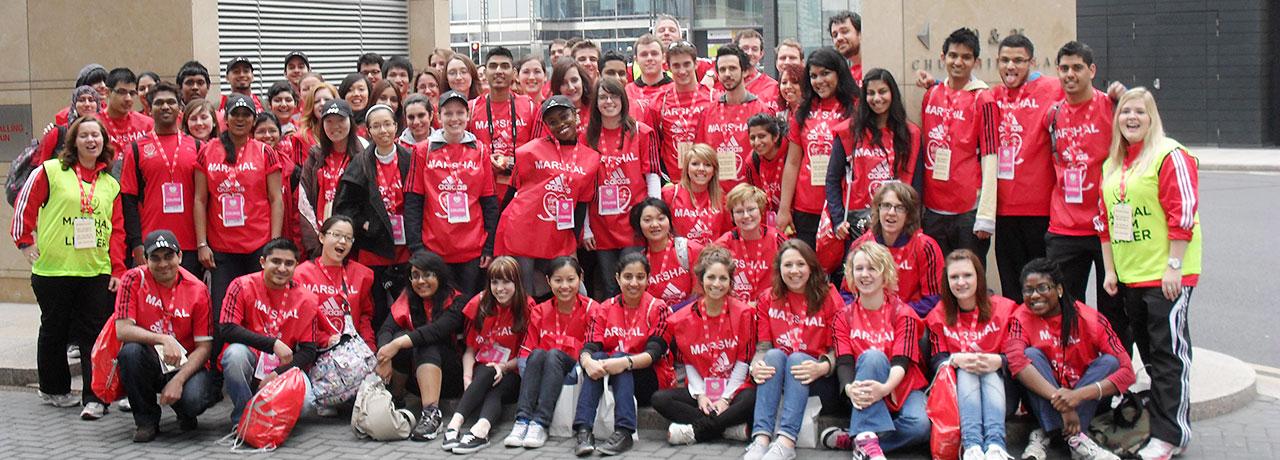 Marathon Volunteers