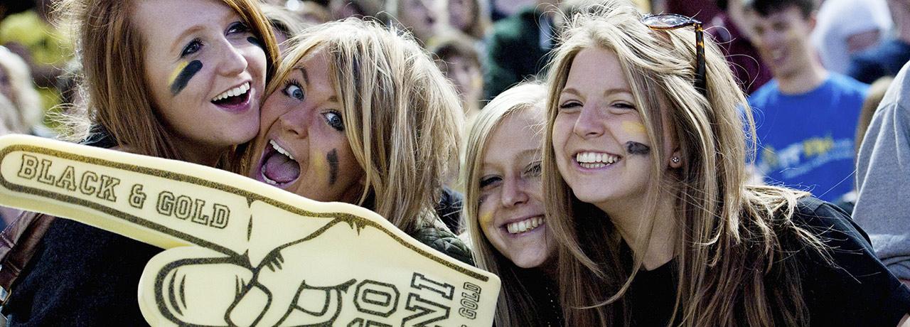 Varsity fans