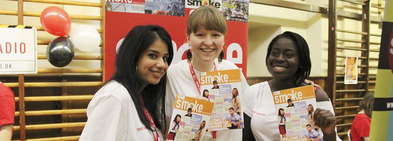 Smoke magazine team