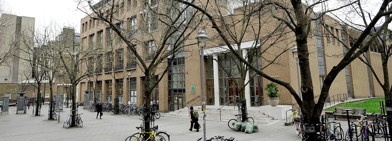 On campus SOAS