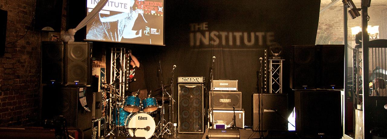 The Institute - live in Camden